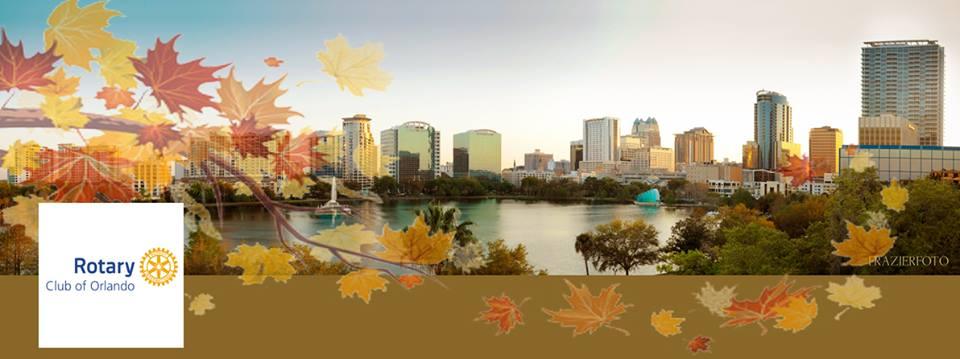 Bezoek aan Rotary Club in Orlando